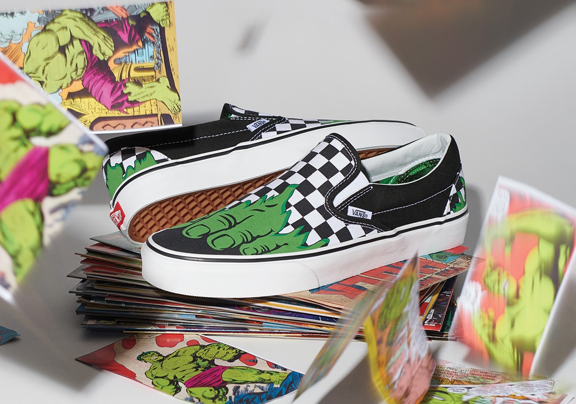 x Marvel Classic Slip-On