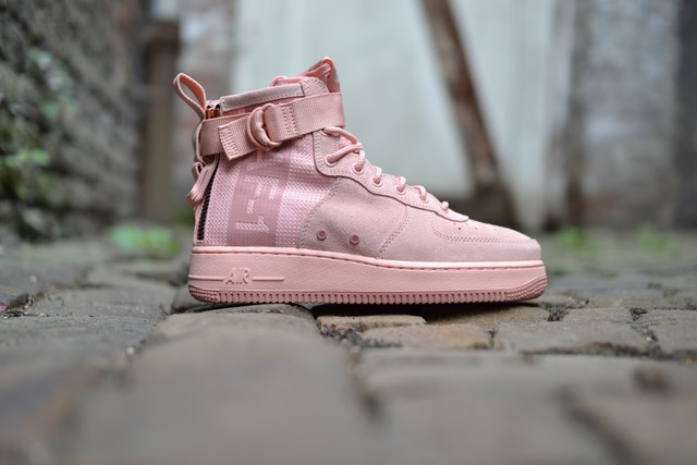 new style 934e0 a4ea3 official nike air force 1 mid koral ab95f 288af